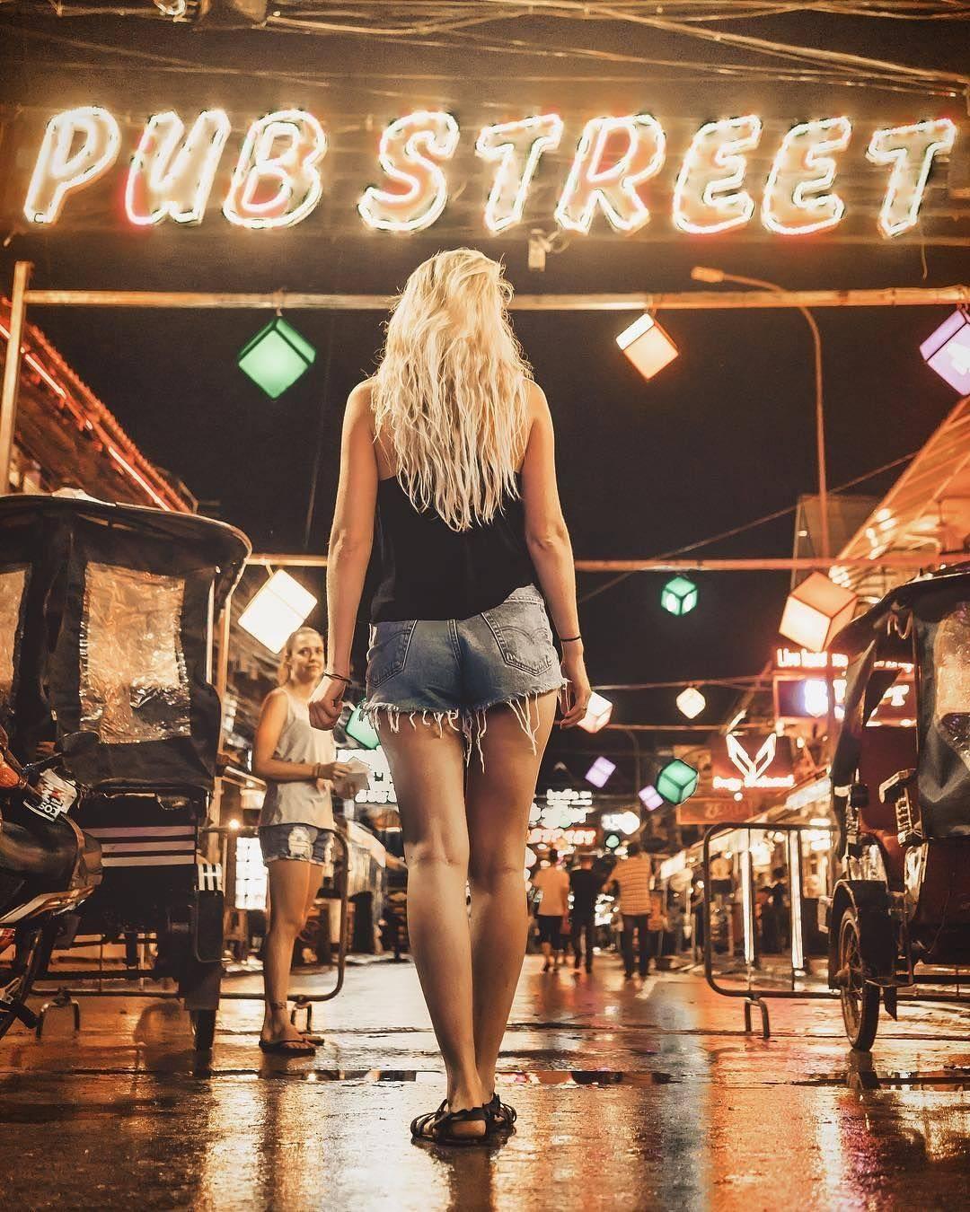 The famous/infamous Pub Street