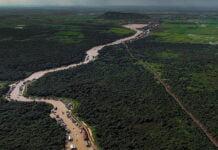Tonle Sap River, Siem Reap, Cambodia