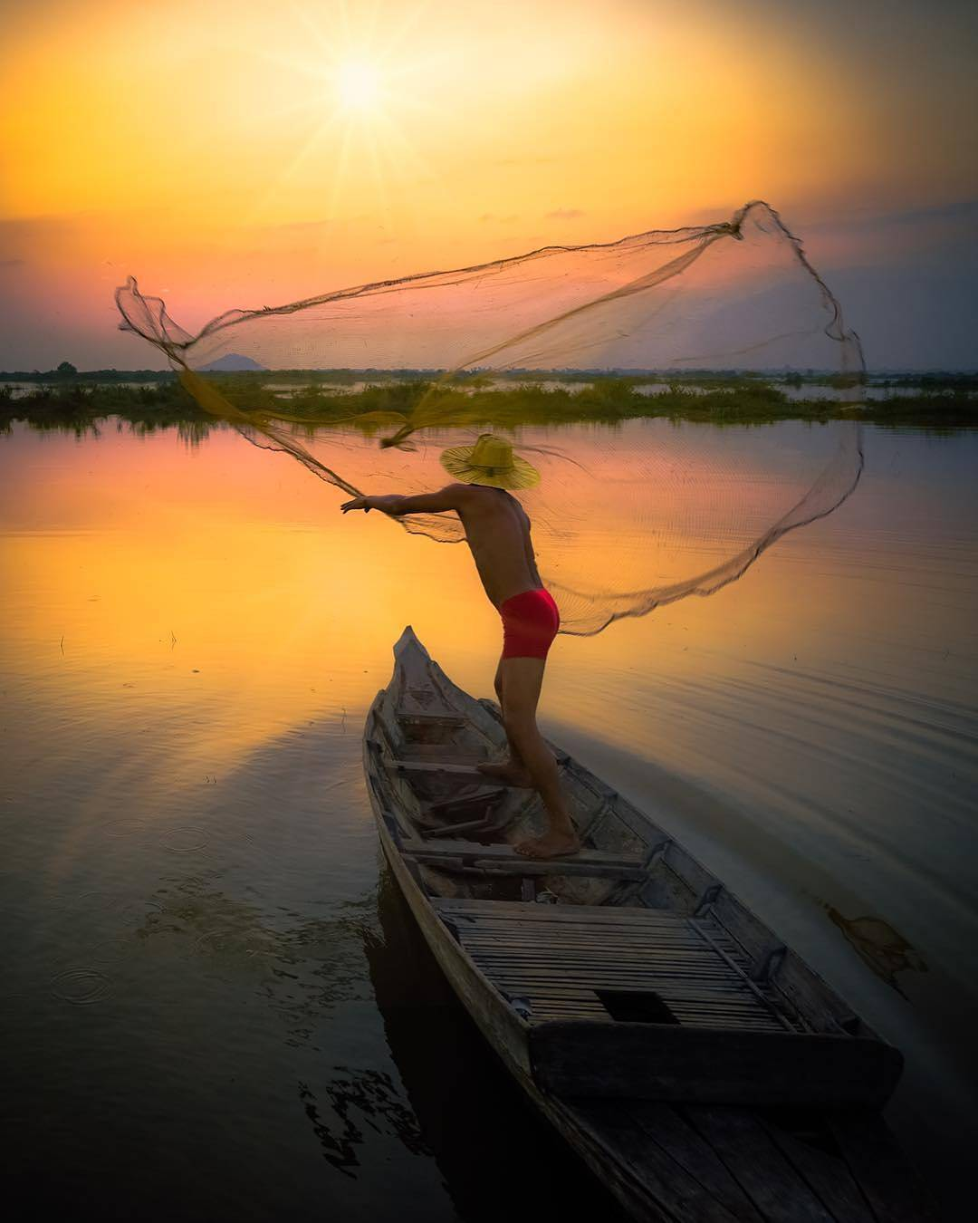 The great lake of Tonle Sap is a valuable source of life