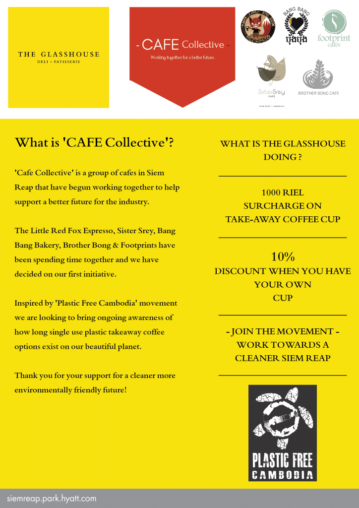 Cafe Collective - The Glasshouse at Park Hyatt Siem Reap