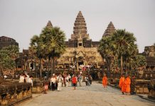tourism to cultural heritage sites like Angkor Archaeological Park booms