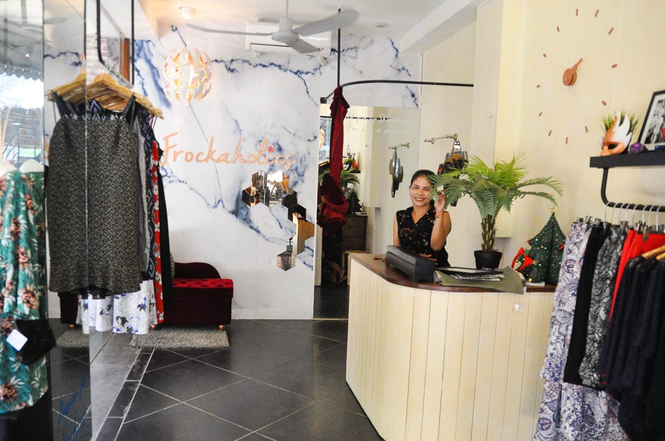 frockaholics fashion store, Siem Reap, Cambodia
