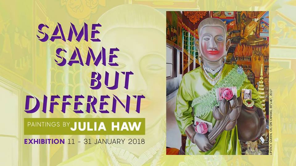Same Same But Different; Paintings by Julia Haw