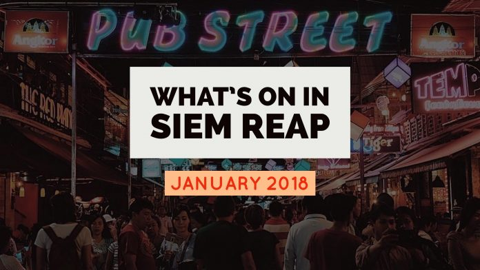siem reap events - january 2018