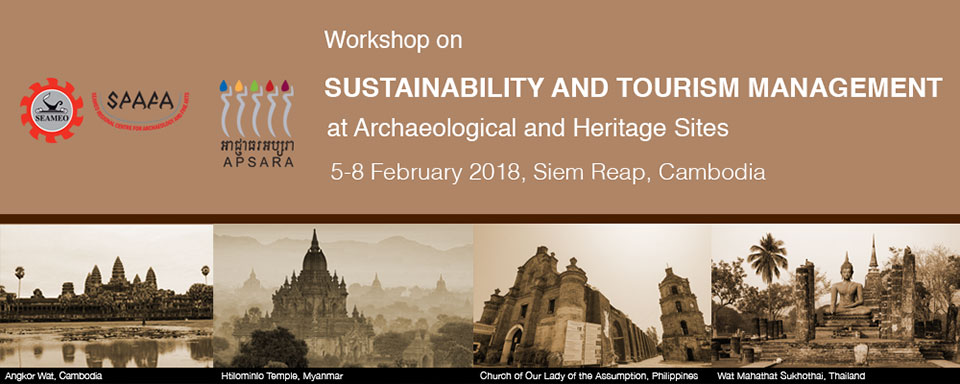 workshop on Sustainability and Tourism Management for Archaeological and Heritage Sites