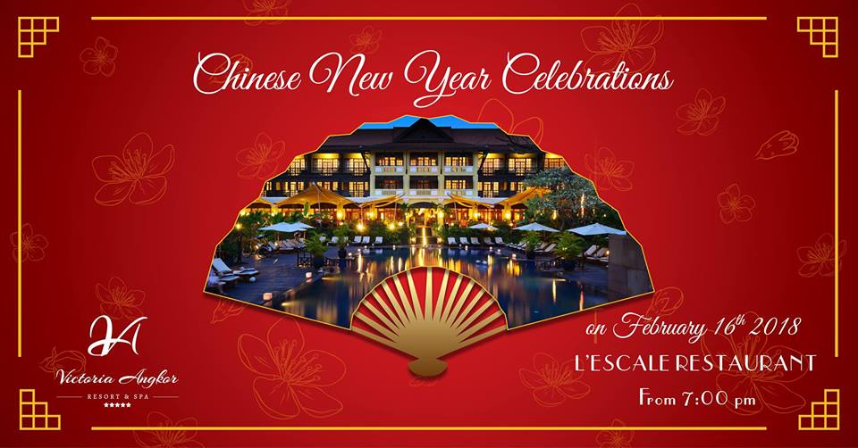 Chinese New Year at Victoria Angkor Resort
