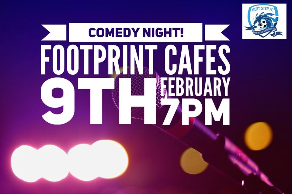 Comedy Night at Footprints Cafe
