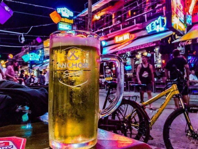 pub street is the center of the siem reap nightlife