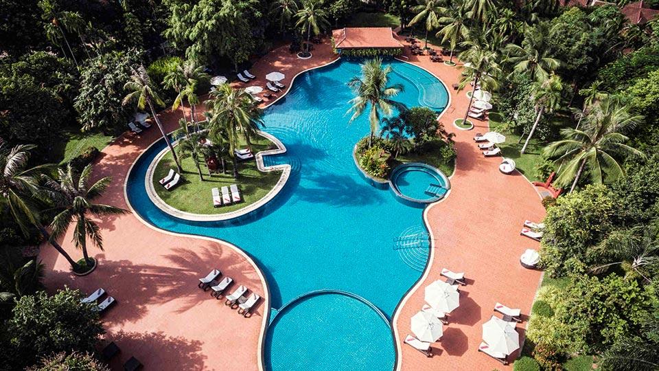 Siem Reap Luxury Resorts - Sofitel Angkor Phokeethra Golf & Spa Resort