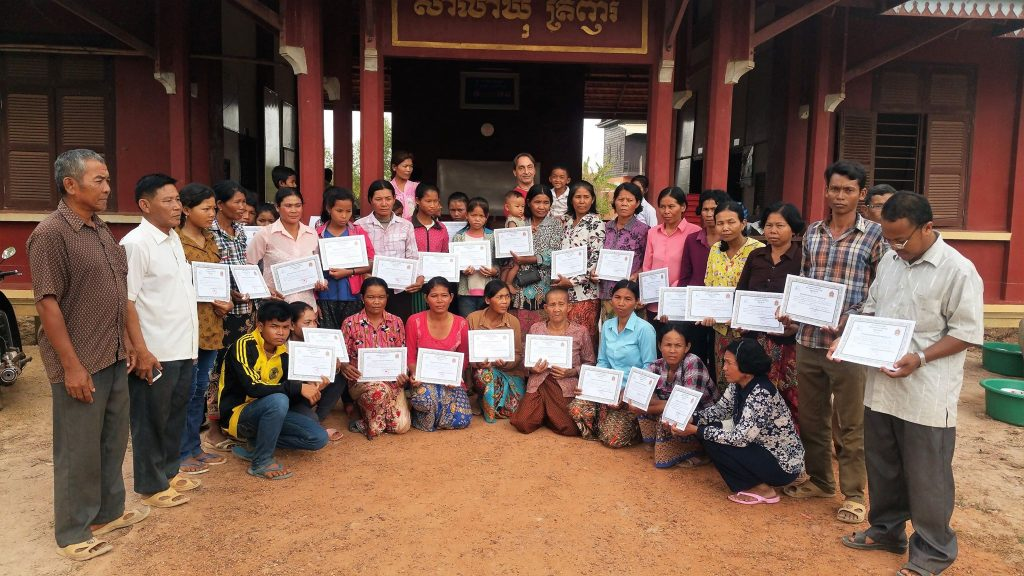 Water For Cambodia - LIteracy Graduation | Siemreap.net