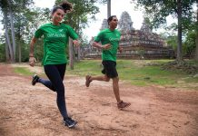 Team AHC - Angkor Wat International Half Marathon
