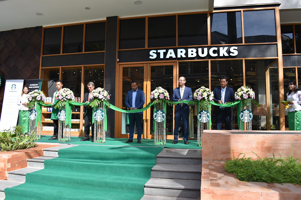 Starbucks, The Heritage Walk - Opening ceremony