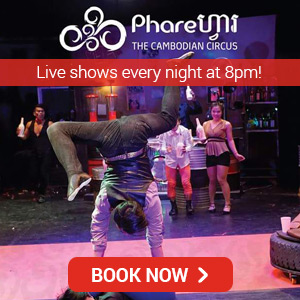 Book tickets for Phare, the Cambodian circus