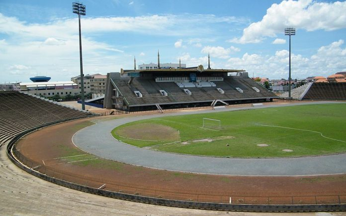 Olympic Stadium - Phnom Penh Cambodia