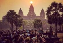 Equinox at Angkor Wat siem reap cambodia