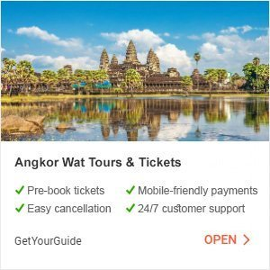 Angkor Wat Tours and Tickets