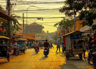 Old Market area, Siem Reap, Cambodia