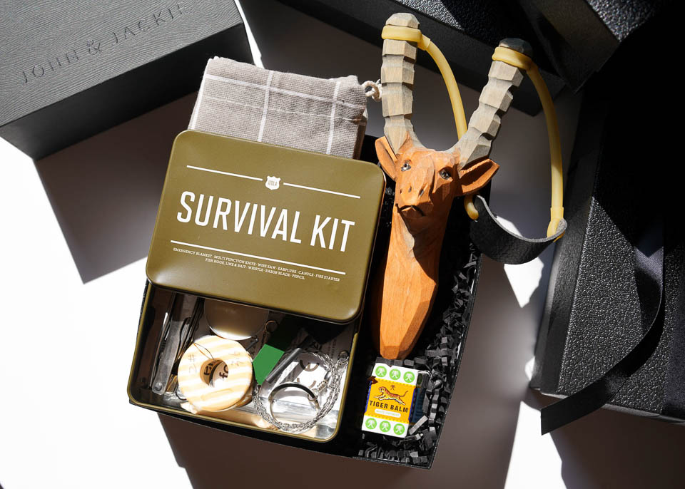 Into the Wild Gift box by John & Jackie Gifts