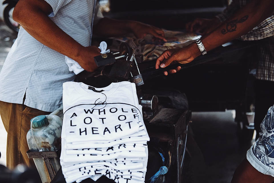 A whole lot of heart t-shirts