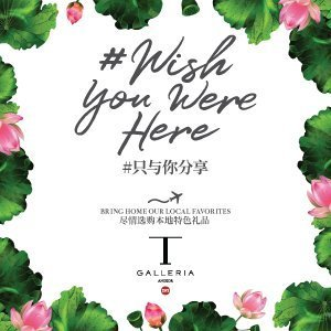 T Galleria - Wish You Were Here