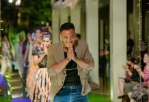 Muoy Chorm is a Siem Reap based fashion designer