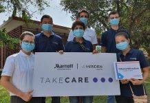 Le Meridien Angkor's visit to the Angkor Children Hospital